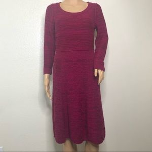 Anthropologie Sparrow Vinifera Sweater Dress sz M